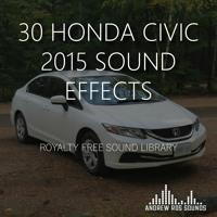 30 Honda Civic 2015 SFX Demo