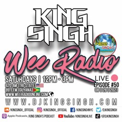 Live ep.50 (Wee Radio 08.28.21 [pt.2])   The King is in the Building.