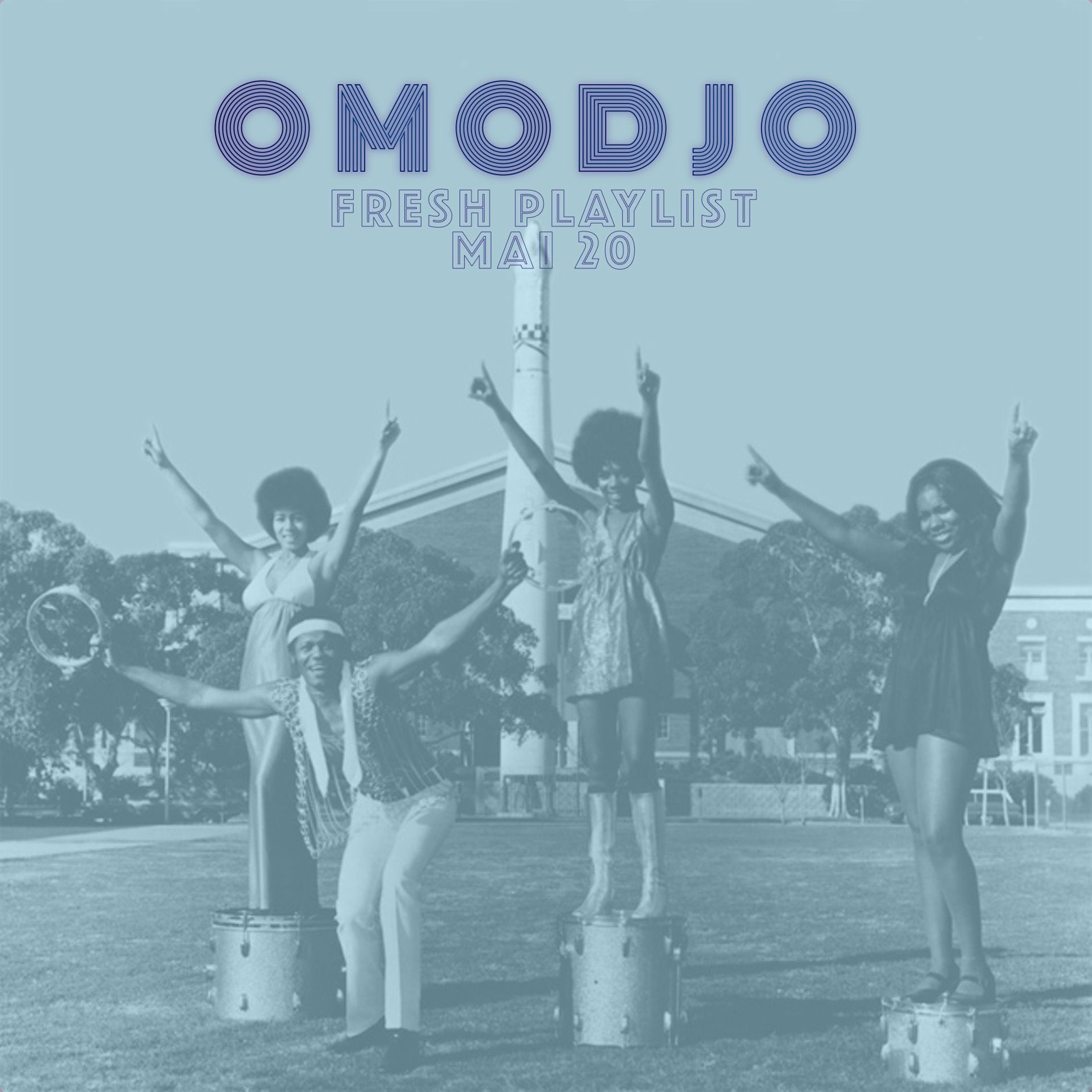 PLAYLIST - PLAY ! OMODJO mai 2020 - continuous mix