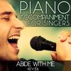 Abide with Me (Piano Accompaniment of Hymns & Worship - Key: Eb) [Karaoke Backing Track]