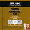 Dear Friend (Performance Track In Key Of F)