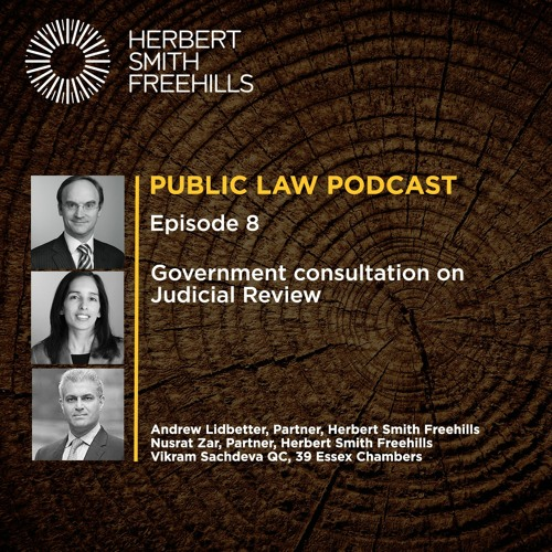 Public Law Podcast EP8: Government Consultation on Judicial Review