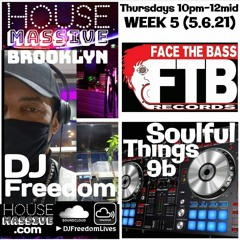 House Massive Brooklyn - Soulful Things 9b (Studio ReVibe) [HouseMassive.com] 5.6.21