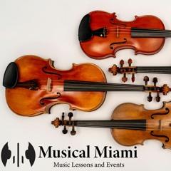 Canon In D - Musical Miami String Quartet