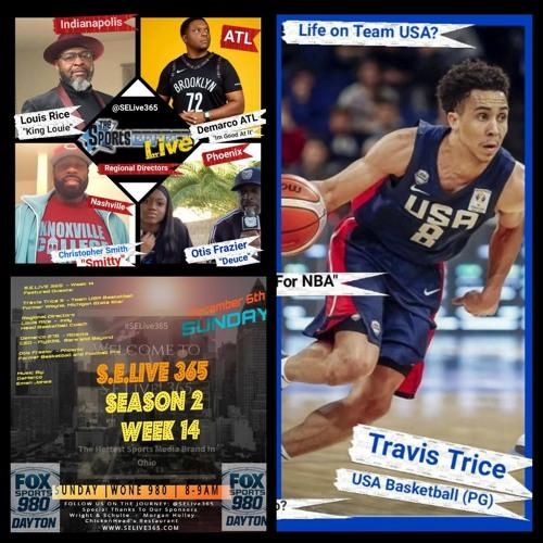 Season 2 Featured Guests : Travis Trice, Louis Rice, Demarco, Otis Frazier