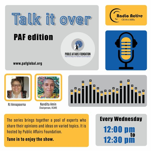 Talk It Over Ep 15 With Nandita By Dr.Annapoorna Ravichander
