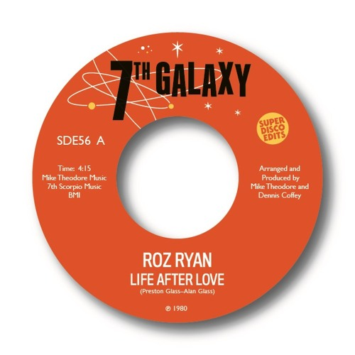Roz Ryan Life After love-1980 previously unissued soul-7th Galaxy