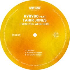 I Wish You Were Here (Intr0beatz Remix) [feat. Tahir Jones]