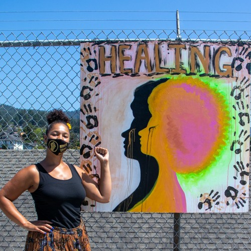 Art On The Fence Depicts Racial Diversity at Arcata Ballpark