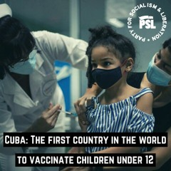 Cuba: The first country in the world to vaccinate children under 12