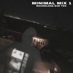 MINIMAL MIX 1 B2B TEK