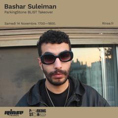 Rinse France / ParkingStone BLIST takeover / 14.11.20 / Bashar Suleiman