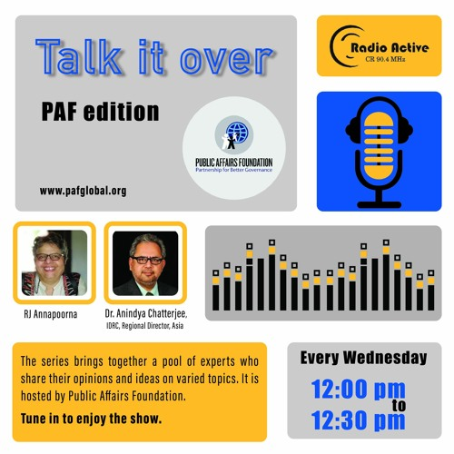 Talk It Over Ep 11 With Dr. Anindya Chatterjee By RJ Dr. Annapoorna Ravichander