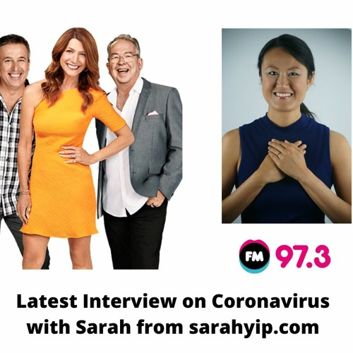 20200313 973FM Interview On Coronavirus With Sarah Anderson