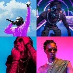 COMMAS 2 | Future Kendrick Travis $cott Beat