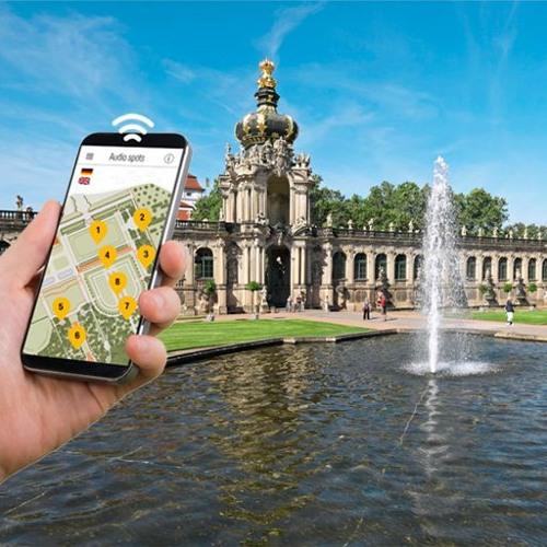 Smartphone-Audioguides | Dresdner Zwinger | Der Herzogin Garten