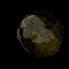 Premiere: DerAlinea & VΔLE - The World Is [DUNKELHEIT]