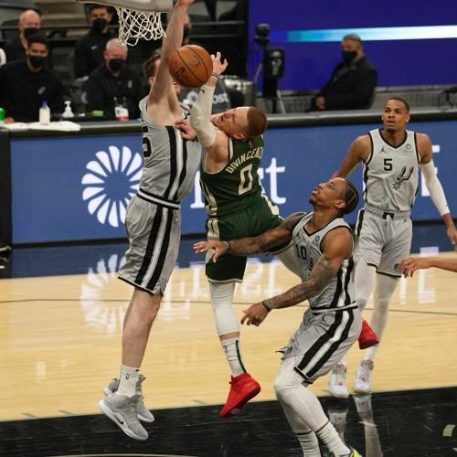 Game Recap: Spurs 146 - Bucks 125   05.10.21