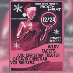 WLDV Vinyl set @ Strict Tempo: Body Heat - The Italo Disco Christmas Special