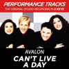 Can't Live A Day (Performance Track In Key Of A/B)