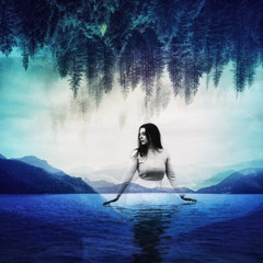 Calling the Water Fairies - For Deep Relaxation and Rest with Voice , Drum and Sound of water