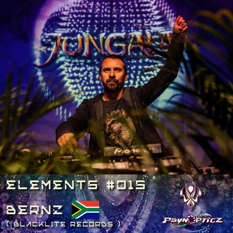 "BERNZ    SA (Blacklite Records) :: PsynOpticz ""ELEMENTS"" Series #015"