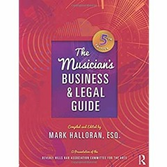 Pdf [download]^^ The Musician's Business and Legal Guide [R.A.R]