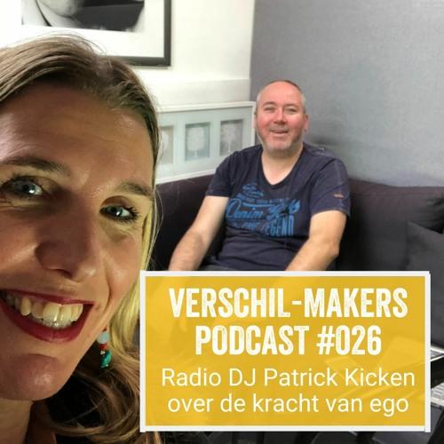 EP26 Radio DJ Patrick Kicken over de kracht van ego