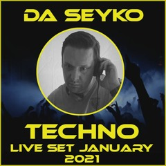 Techno live set January 2021