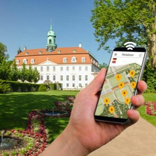 Smartphone-Audioguides   Schloss & Park Lichtenwalde   Berceau