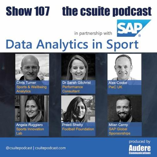 Show 107 - Data Analytics In Sport