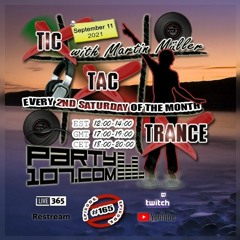 Tic Tac Trance 165 with Martin Mueller (September 11 2021)