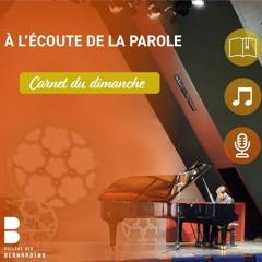 EP 12 : Sixième dimanche du temps Pascal - 09/05/2021
