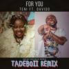 Teni - For You Ft Davido - Tadeboii Swing Bounce Remix [2021]