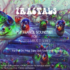 Fractals Psytrance Soundset For Access Virus TI Series
