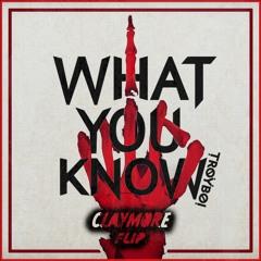 Troyboi - What You Know (Claymore Flip)