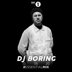 DJ BORING - Radio 1 Essential Mix