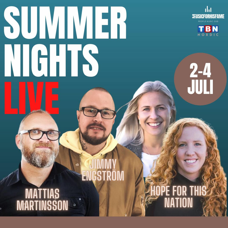 Summer Night LIVE - Söndag