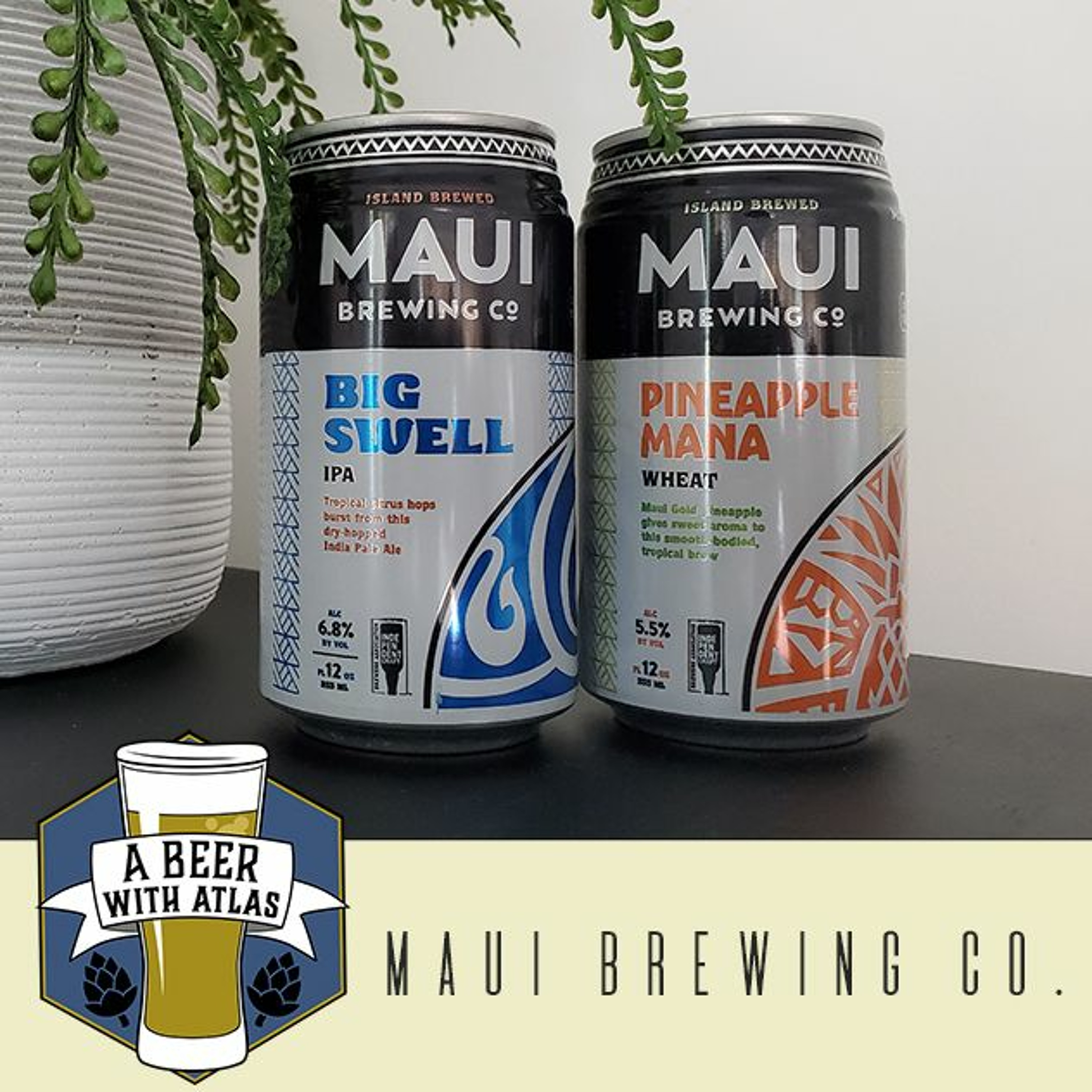 Maui Brewing Co with Travel Nurse Recruiter Justin Pietig - Beer With Atlas 105