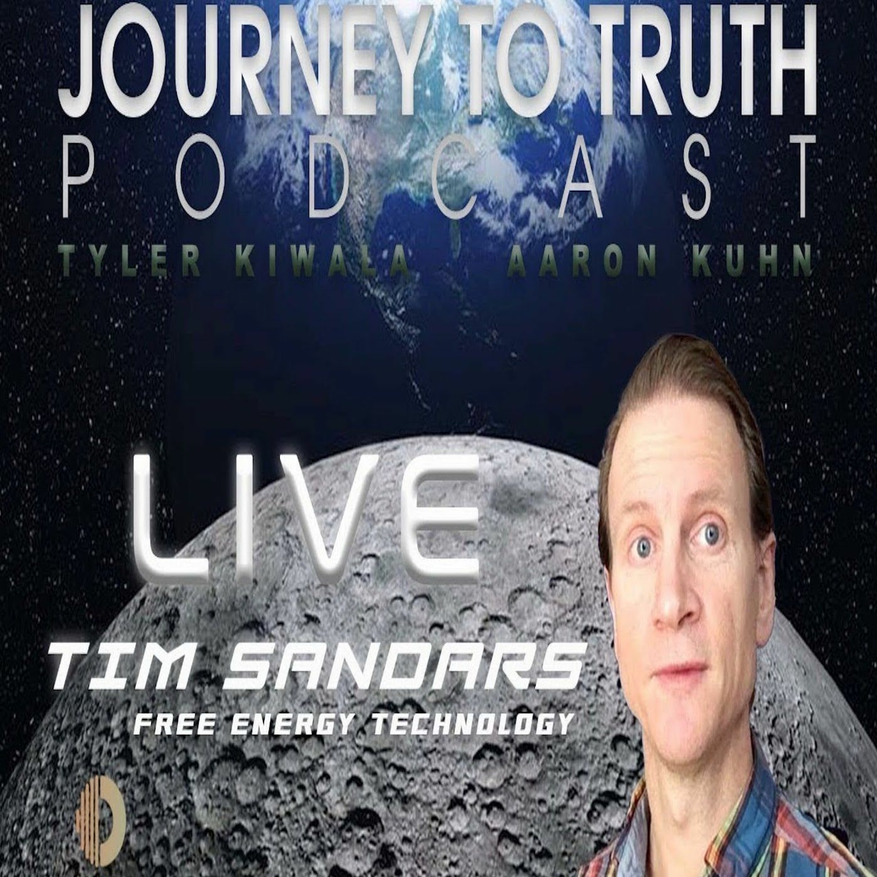 EP 94 - Live w/ Tim Sandars - Free Energy Devices - Conscious Nano Technology - EMF Protection