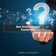 417   Next-Level Leadership Coaches Q&A
