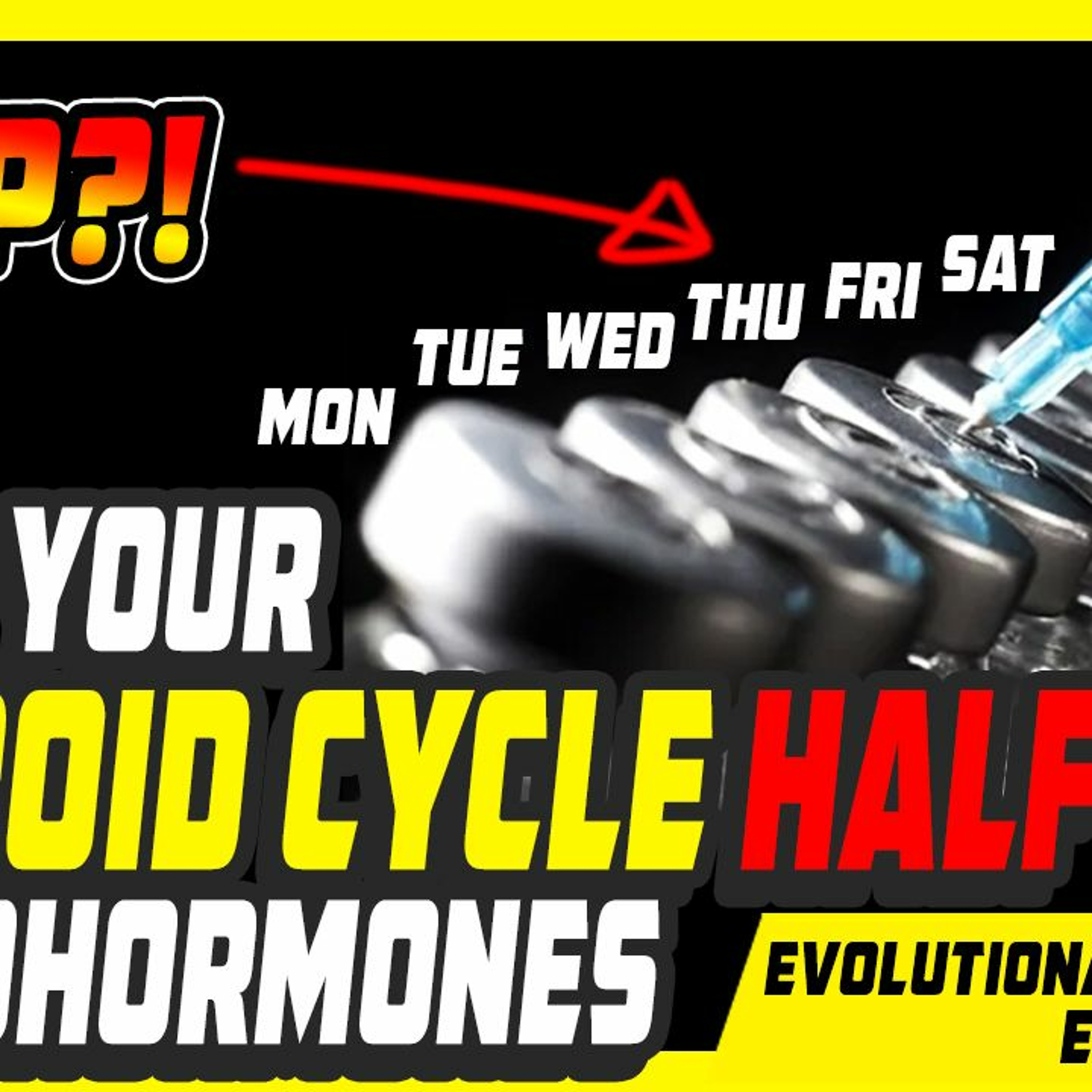 Evolutionary.org Podcast #405 - Quit your Steroid cycle half way and Prohormones