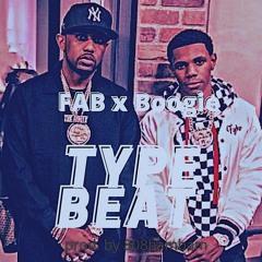 4 Tha Fallen - Fab x A Boogie Type Beat - 2021