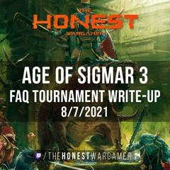 Age of Sigmar 3 FAQ Tournament Write-Up