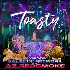 AZ.REDSMOKE LIVE PERFORMANCE FOR TOASTY! TWITCH.TV RAID TRAIN JULY 25 2021