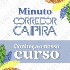 Participe do curso Conectando Paisagens e Pessoas  Minuto Corredor Caipira
