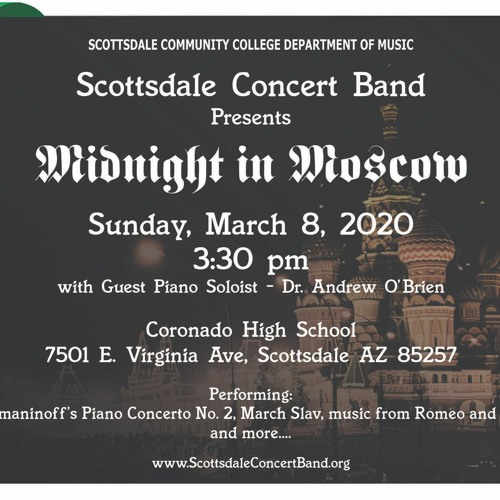 """""""Midnight in Moscow"""" March 8, 2020 Concert"""
