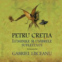 """Gabriel Liiceanu și Gabriela Creția despre """"Luminile și umbrele sufletului"""" de Petru Creția"""
