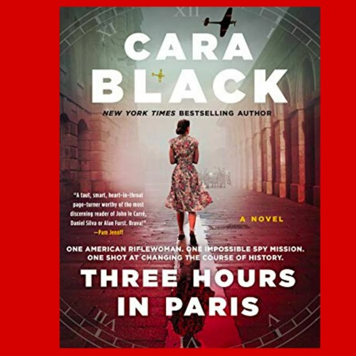Second Sunday Books Welcomes Three Hours in Paris author Cara Black