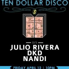 DJ Nandi- Live Set from Santos Party House NYC 04 - 12 - 2013